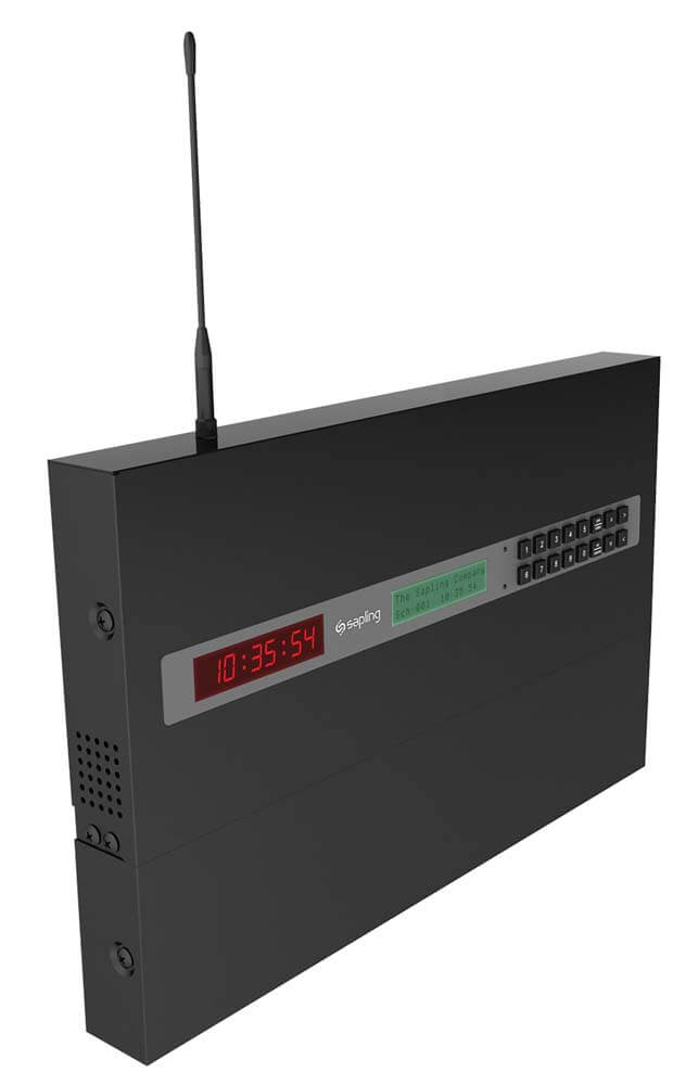 Master Clock 3000 Series Wall Mount Perspective