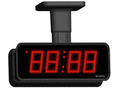 Sapling-Large-Digital-Clock-4-Digits-with-a-Red-Display-Double-Mount