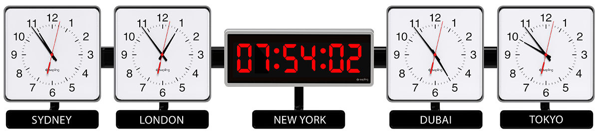 Sapling-Square-Analog-Dial-S-Hands-S-Center-406-Digital-Zone-Clock-5-Time-Zones-M-1