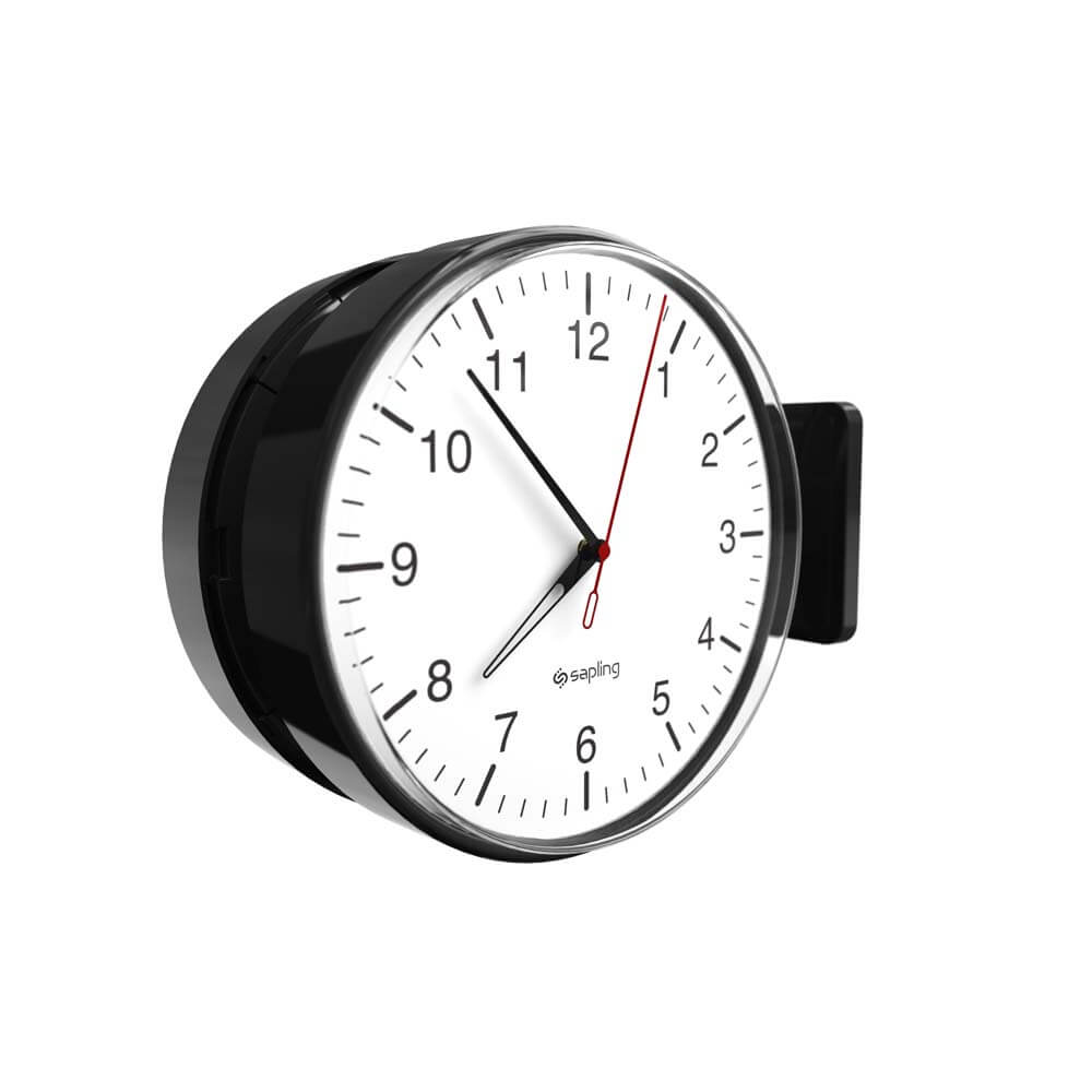 round analogue clock full product view